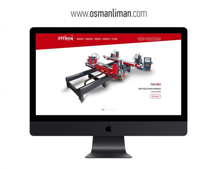 Osman Liman Kurumsal Websitesi