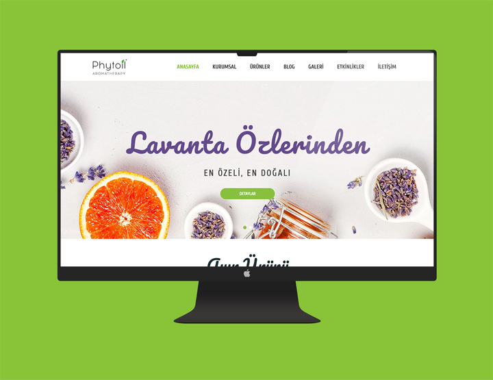 Phytoil Kurumsal Websitesi
